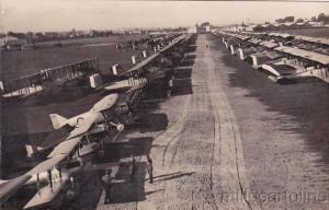 Aeroporto di Centocelle foto d'epoca