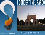 I concerti nel Parco villa Pamphilj 2014