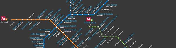 mappe Giulia sotto la metro 2017