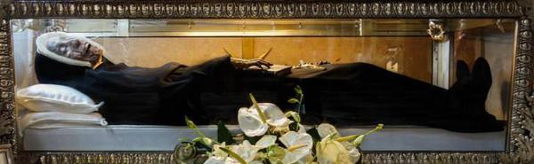 I corpi incorrotti dei santi nelle chiese di Roma