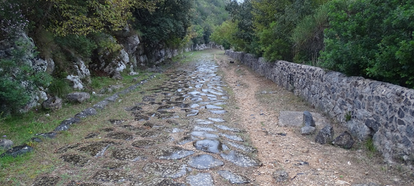 L'Appia ritrovata. In cammino da Roma a Brindisi. Santa Maria Nova 2020
