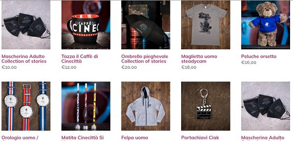 Shop on line Cinecittà si Mostra 2